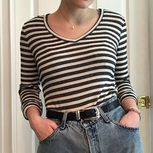 Anthropologie Striped Long Sleeve